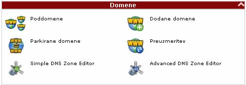 Upravljanje domen