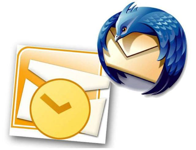 Microsoft Outlook in Mozilla Thunderbird